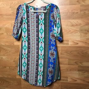 Small Tribal Print Dress
